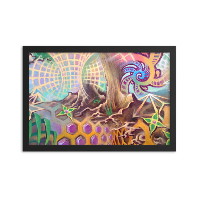 Framed print / ROOTS