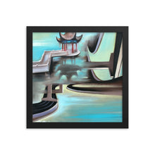 Framed print / FREEWAY GAZEEBO