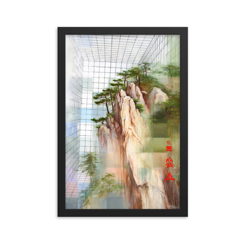 Framed print / PERCEPTION