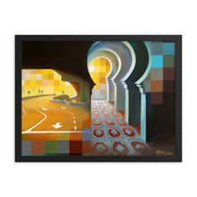 Framed print / HERE AND THERE