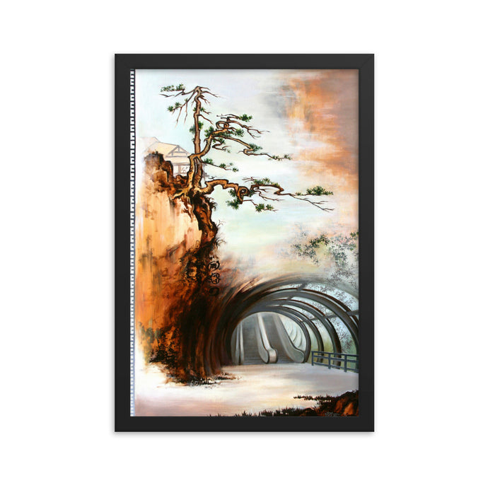 Framed print / THE WAY