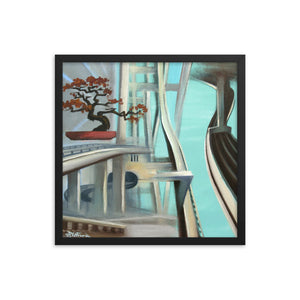 Framed print / FREEWAY BONZAI