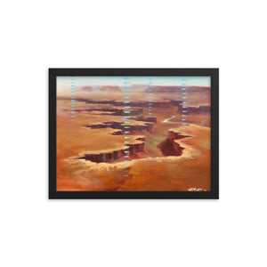 Framed print / CANYONLANDS