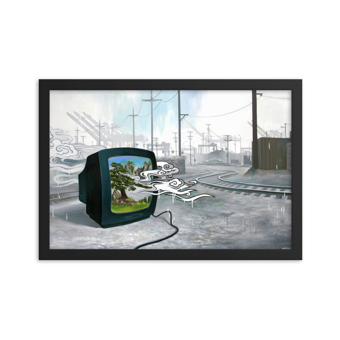 Framed print / THE NATURE CHANNEL