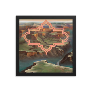 Framed print / TIME