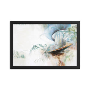 Framed print / UNTITLED