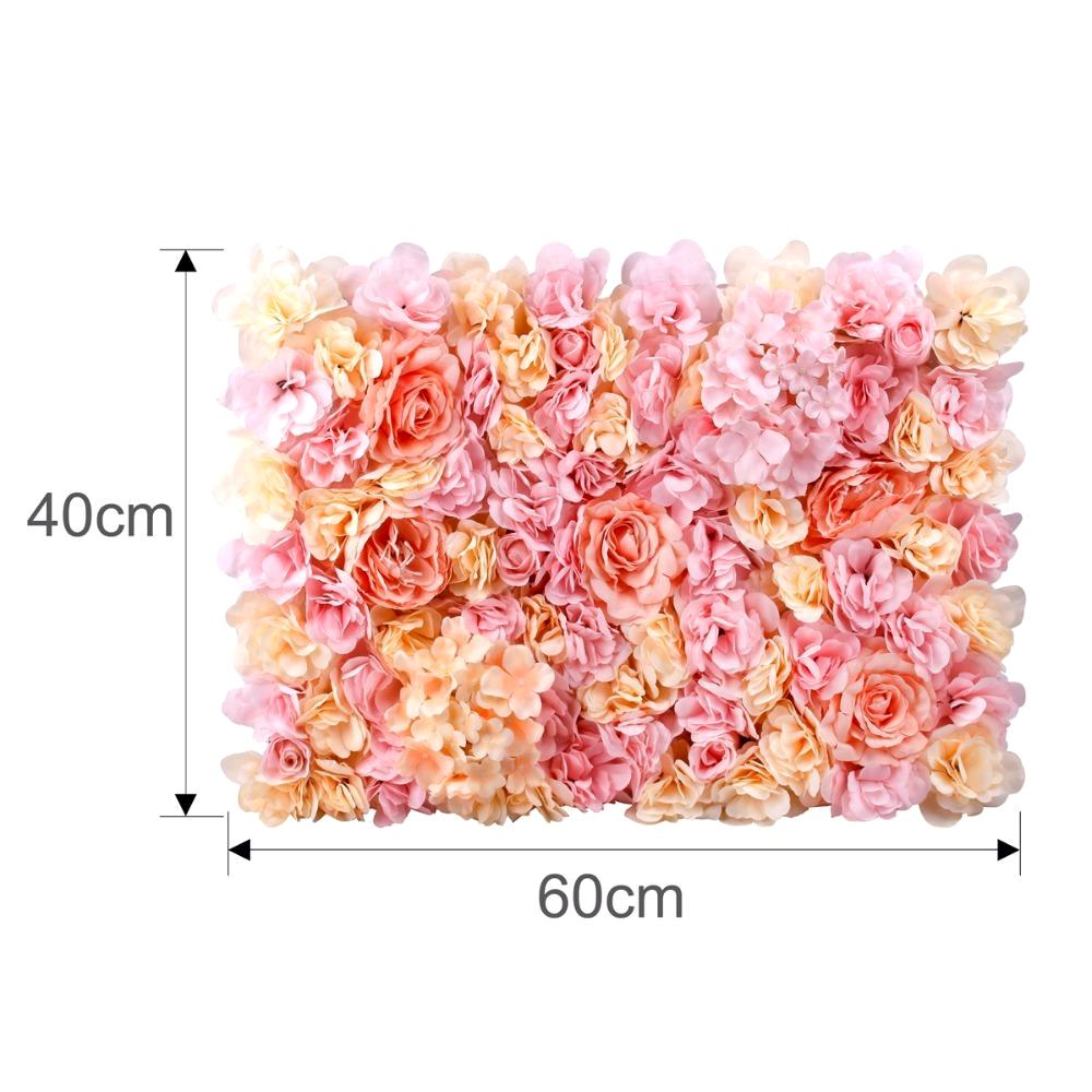 Silk Flower Walls Panels Varies Weddsies