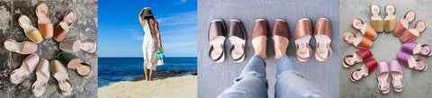 pons handcrafted leather sandals