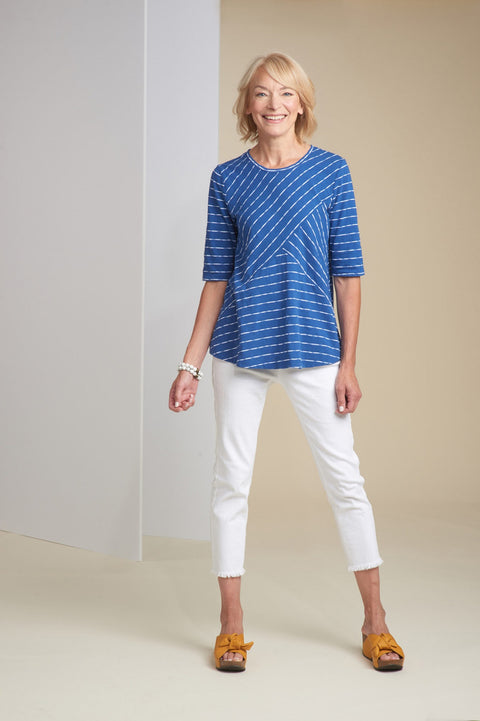Habitat Malibu Stripe Mixed Tunic
