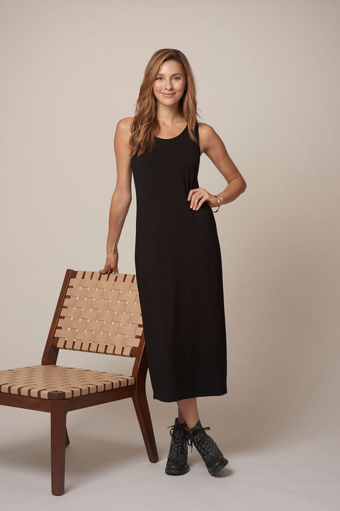 Habitat Everything Long Dress in Black