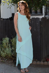 Oh My Gauze Cabo Dress-Aloe