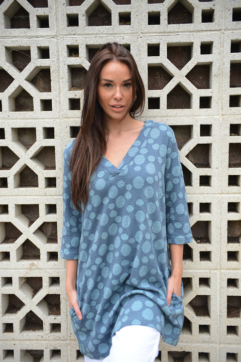 Komil Big Circle Weave Tunic