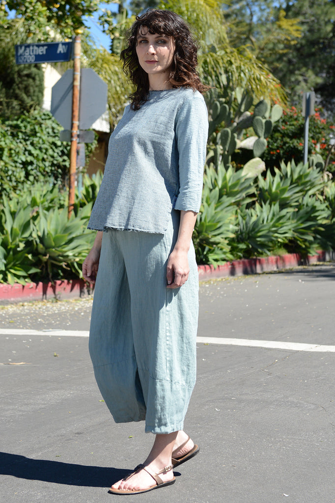Cut Loose Linen Lantern Pant - thread to cloth