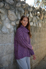 Multi-Yarn Turtleneck Sweater By Wind River - thread to cloth