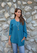 Habitat Cotton Pebble Pocket V Tunic - thread to cloth