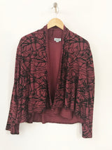 Viscose Print Cardigan By Wind River - thread to cloth
