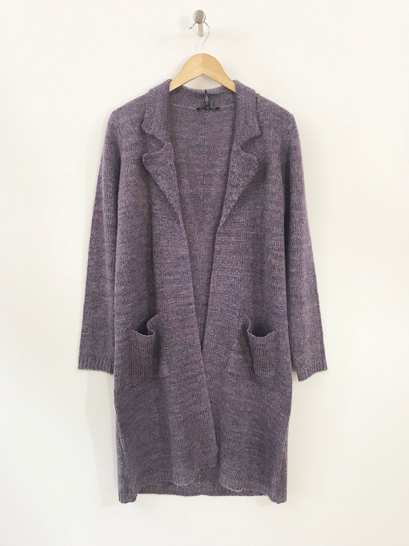 Melange Sweater Coat-Blossom - thread to cloth