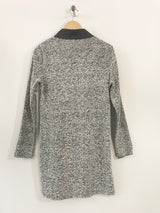 Zip Up Sweater Tunic - thread to cloth