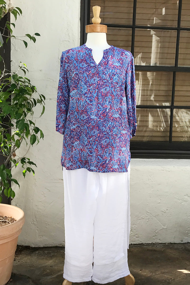 Moroccan Pant White - thread to cloth