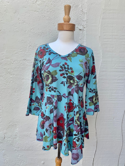 color me cotton cmc cotton tunic top for fall