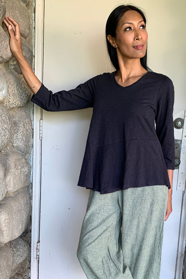 Habitat Clothing Flounce Cotton Tunic