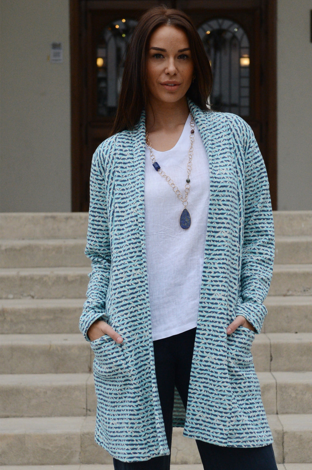 Komil Potrush Long Jacket