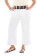 Oh My Gauze Paula Pant-Snow - thread to cloth