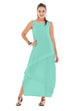 Oh My Gauze Cabo Dress-Aloe - thread to cloth