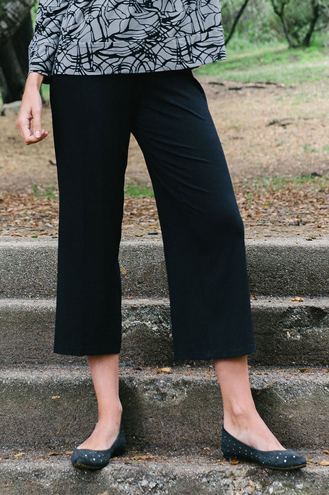 Viscose Cropped Pant By Wind River - thread to cloth