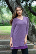 womens v neck tunic by yest