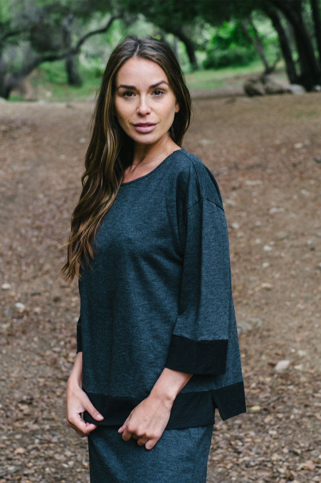 Baby Terry Slub Top By Wind River - thread to cloth