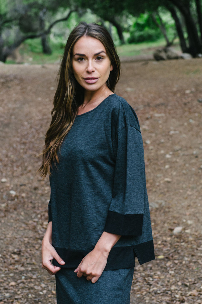 Baby Terry Cotton Slub Top By Wild River