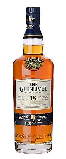 The Glenlivet 18 Year Single Malt Scotch Whisky (750 ml)