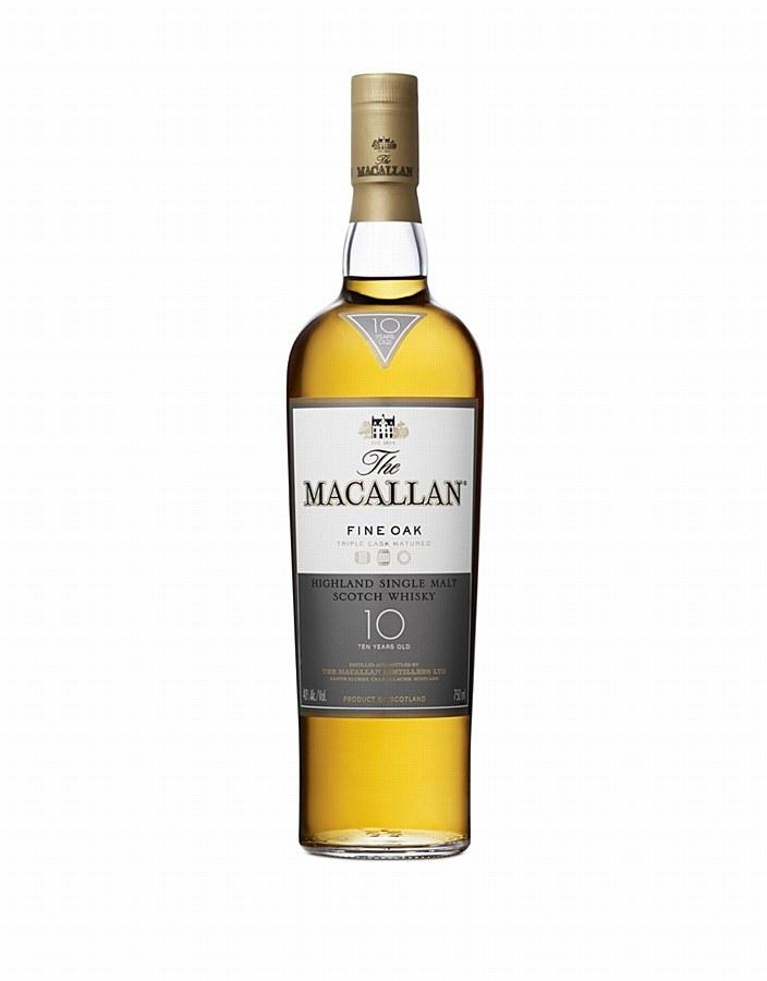 The Macallan 10 Year Fine Oak Single Malt Scotch Whisky (750 ml)