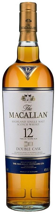 The Macallan 12 Year Double Cask Single Malt Scotch Whisky (750 ml)