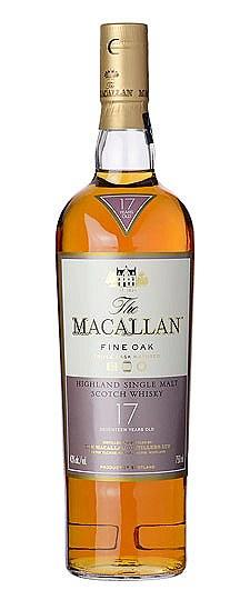 The Macallan 17 Year Fine Oak Single Malt Scotch Whisky (750 ml)