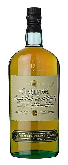 The Singleton 12 Year Single Malt Scotch Whisky of Glendullan (750 ml)