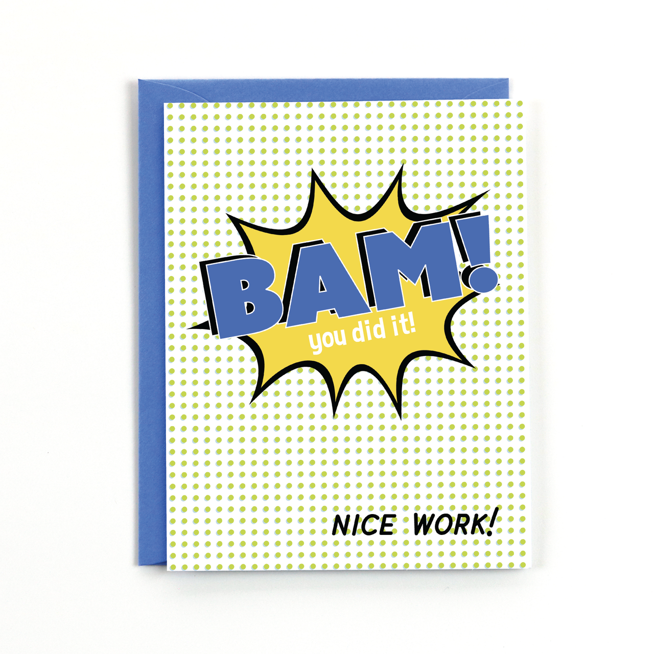 Bam! You Did It! Card