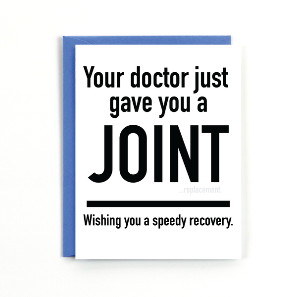 Joint Replacement Card