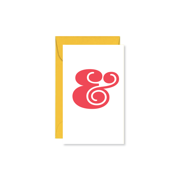 Ampersand Mini Card