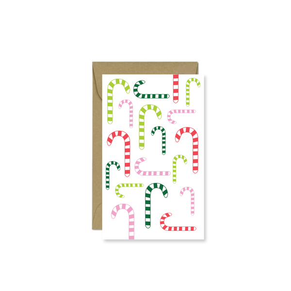 Candy Cane Mini Card