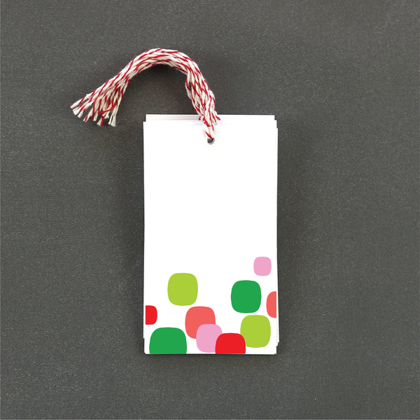 Holiday Dot Gift Tag