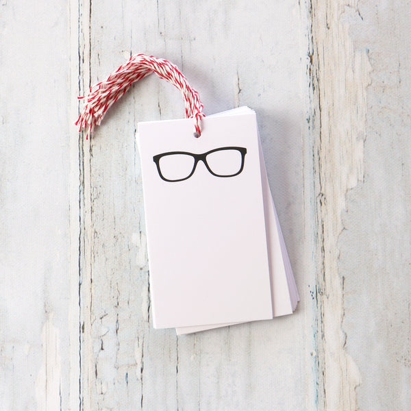 Glasses Gift Tags