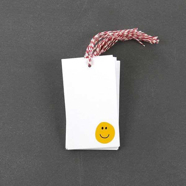 Happy Face Gift Tags