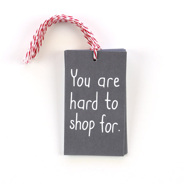 Hard To Shop For Gift Tags
