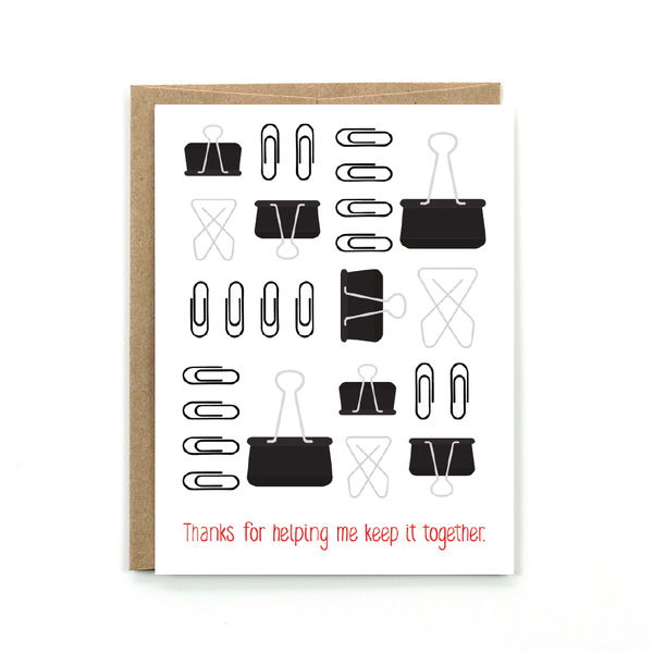 Keep It Together - Card