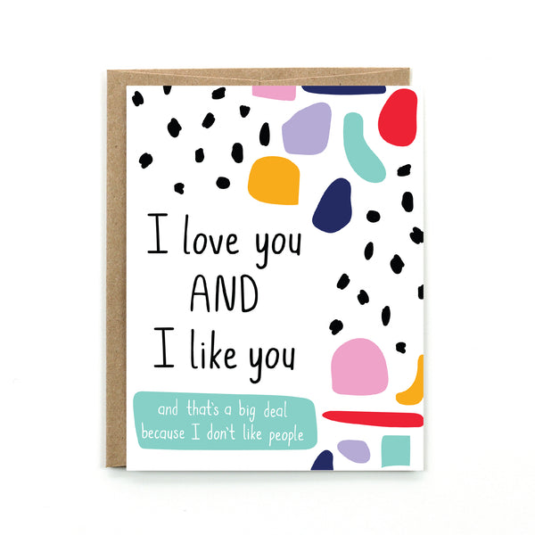 Love and Like Card