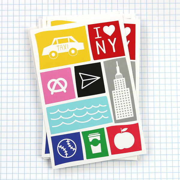 "Show your love for New York with our ""New York"" postcard."