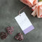 These purple gingham gift tags are the perfect thing to keep with your wrapping supplies as they work well for any occasion.