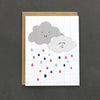 "Our ""Rainy Day"" card for showering your friend with love."